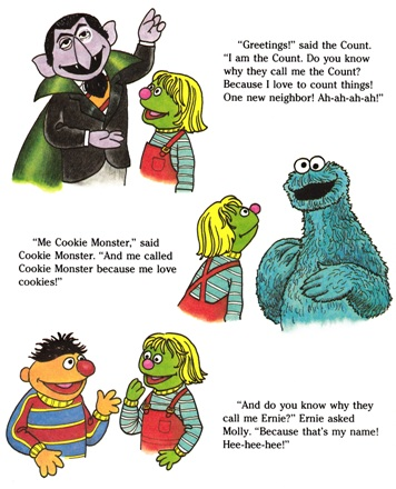 Sesame Street Book Club: Molly Moves to Sesame Street