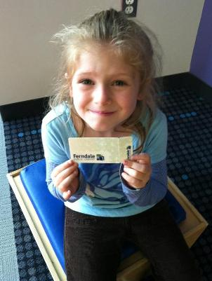 Kids Library Card