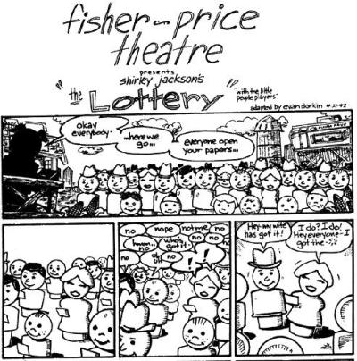 Fisher Price Theater - The Lottery