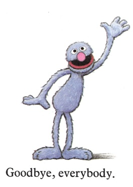 Sesame Street Word Book - Grover