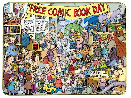 Free Comic Book Day by Sergio Aragones