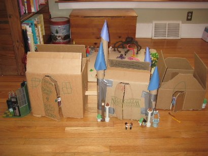 Homemade Hogwarts