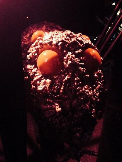 Our very own Acromantula (i.e. big-*** spider)