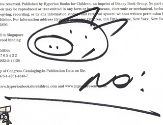 Mo Willems autograph