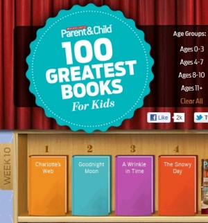 Scholastic 100 Greatest Books for Kids