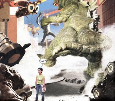 Godzilla Pooped on My Honda