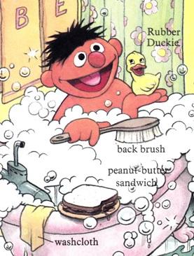 Sesame Street Word Book - Ernie