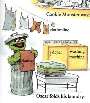 Sesame Street Word Book - Oscar
