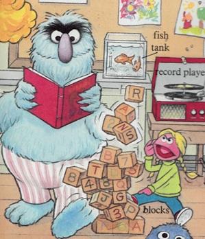 Sesame Street Word Book - Prairie Dawn