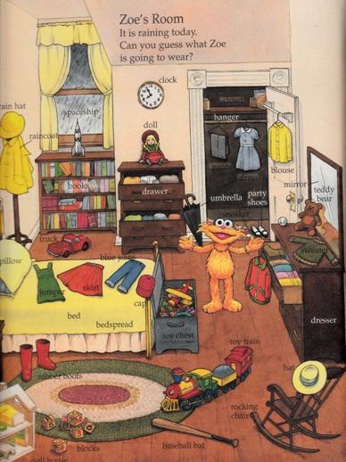 The Sesame Street Word Book (1998) - Zoe