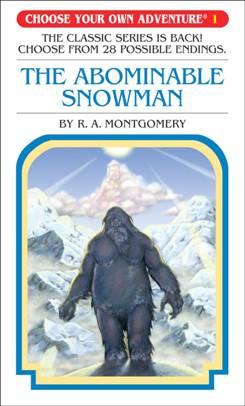 CYOA: The Abominable Snowman