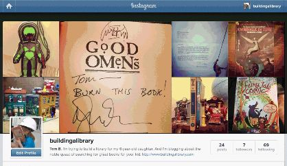 Building a Library Instagram