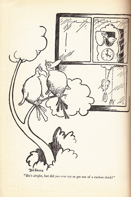 The Bedroom Companion and Dr. Seuss