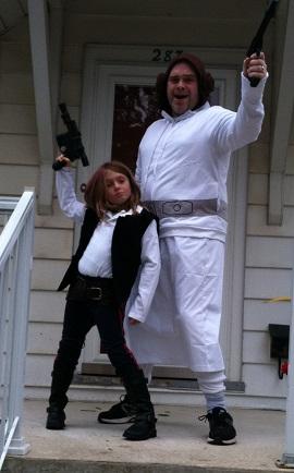 Princess Leia Dad